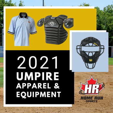2021 Umpire Apparel and Equipment Promo Image